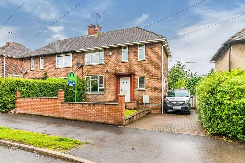 2 Bedrooms Semi Detached House for sale in Wheata Road, Sheffield, S5