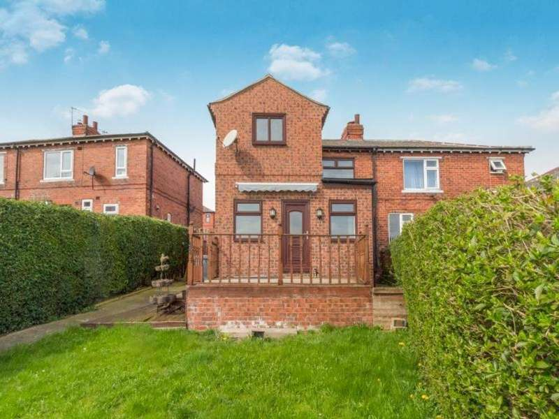 3 Bedrooms Semi Detached House for sale in Lowfield Avenue, Greasbrough, Rotherham, South Yorkshire, S61