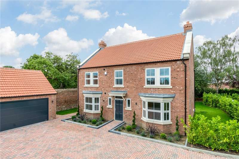 4 Bedrooms Detached House for sale in Cromwell Lodge, Fleet Lane, Tockwith, York