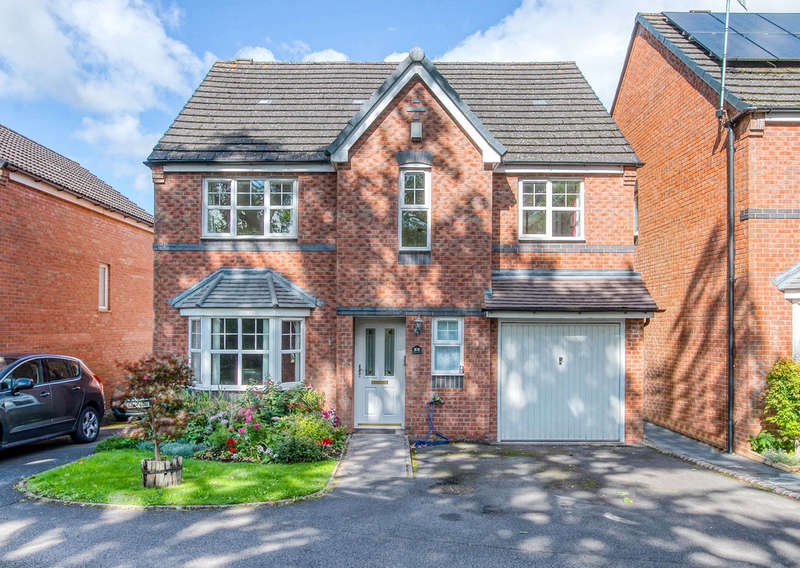 4 Bedrooms Detached House for sale in Larch Drive, Northfield, Birmingham, B31 5HB