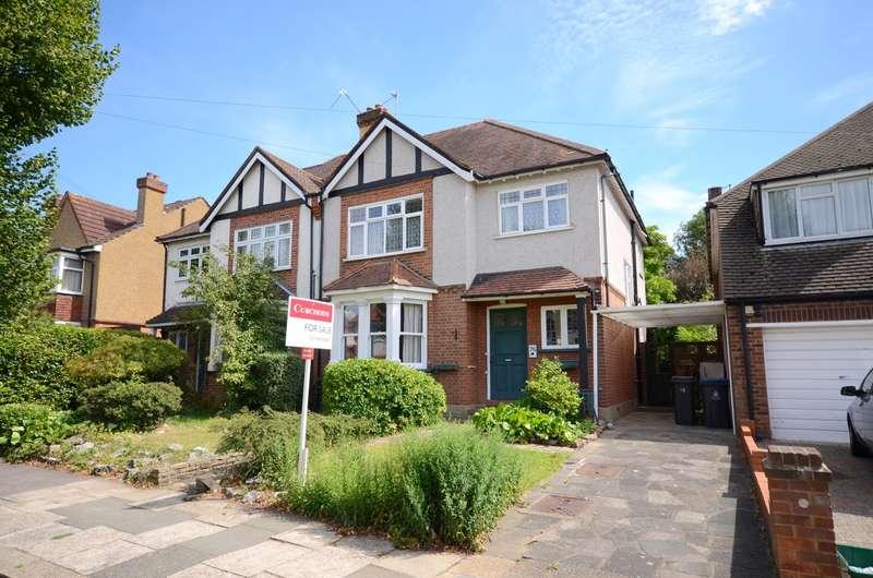4 Bedrooms Semi Detached House for sale in Selwyn Road, New Malden, KT3