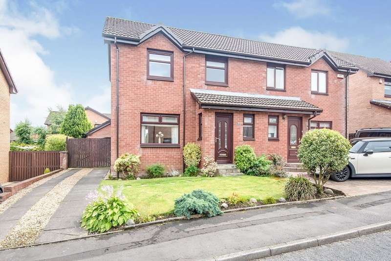 3 Bedrooms Semi Detached House for sale in Galloway Avenue, Hamilton, ML3