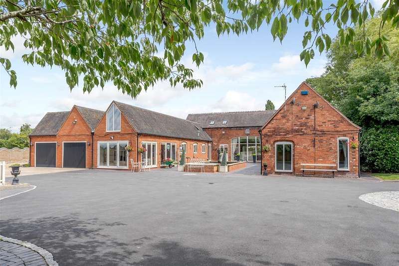 6 Bedrooms Barn Conversion Character Property for sale in Mythe Lane, Witherley, Atherstone