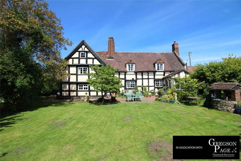 4 Bedrooms Detached House for sale in Boreley Lane, Ombersley, Droitwich, Worcestershire, WR9