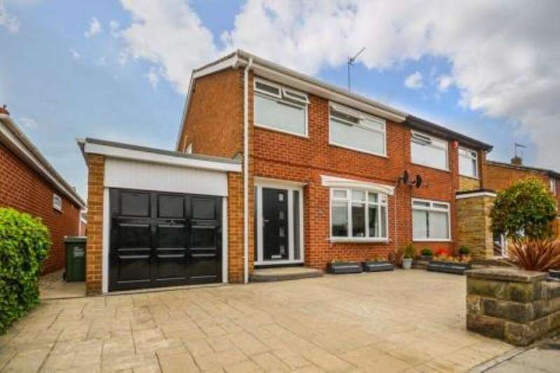 3 Bedrooms Semi Detached House for sale in Lutton Crescent, Billingham, TS22