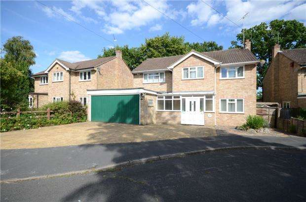 4 Bedrooms Detached House for sale in Broom Acres, Sandhurst, Berkshire