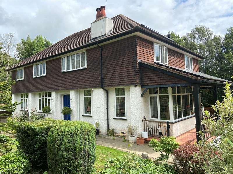 5 Bedrooms Detached House for sale in Strines Road, Marple, Stockport, Greater Manchester, SK6