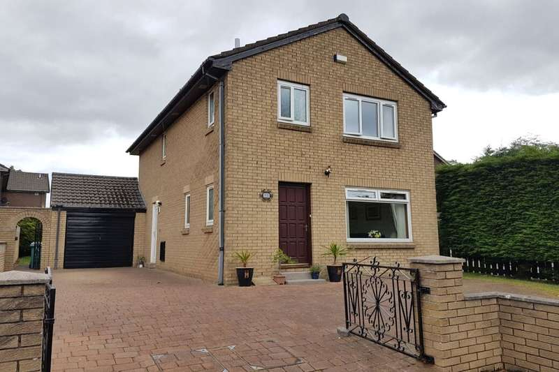 3 Bedrooms Detached House for sale in Alford Quadrant, Wishaw, ML2