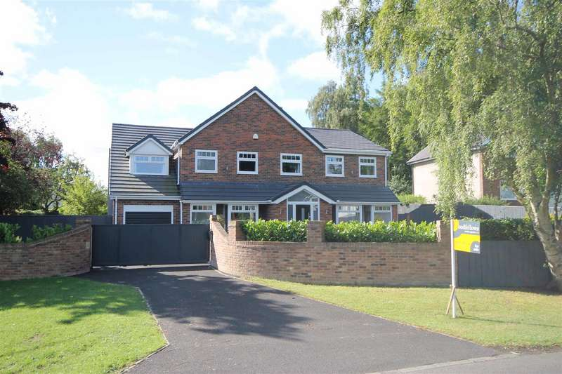 5 Bedrooms Detached House for sale in Edge Hill, Darras Hall, Newcastle upon Tyne, Northumberland