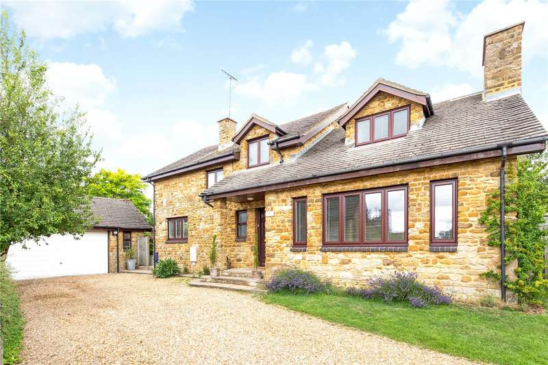 5 Bedrooms Detached House for sale in Yew Tree Rise, Croughton, Brackley, Northamptonshire, NN13