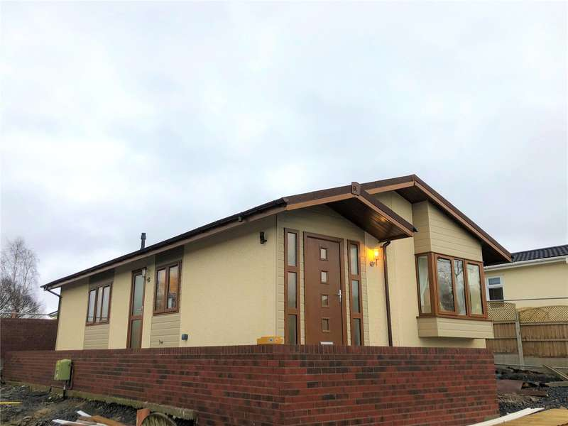 2 Bedrooms Detached Bungalow for sale in 30 Tavern Park, Powys, SY21 8NN