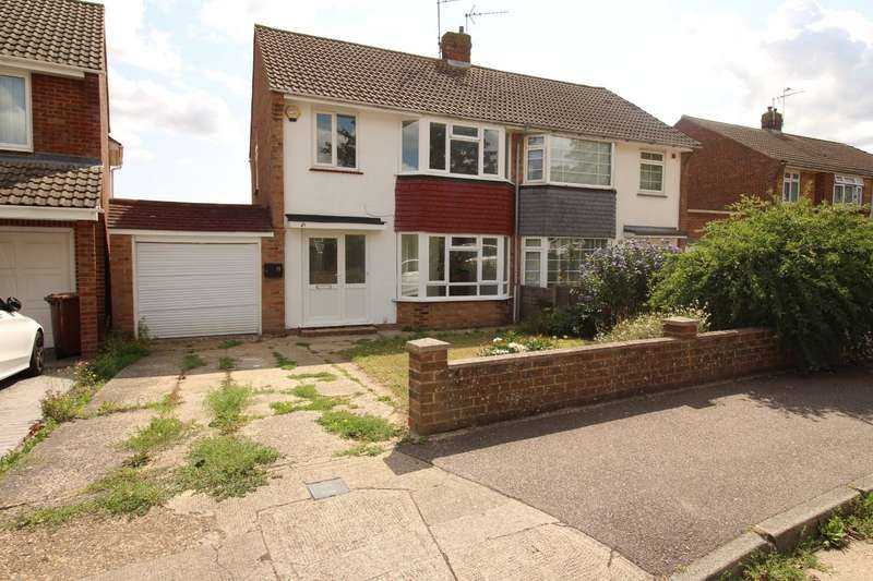 3 Bedrooms Semi Detached House for sale in Courtfield Avenue, Chatham, Kent, ME5