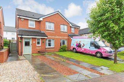 3 Bedrooms Semi Detached House for sale in Bowling Green Grove, Cambuslang, Glasgow, South Lanarkshire