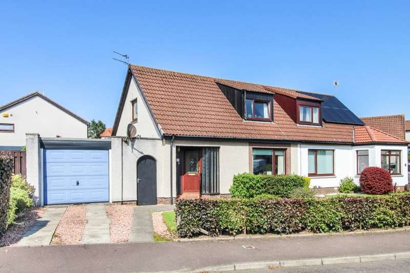 3 Bedrooms Semi Detached House for sale in Keilburn, Lundin Links, Leven, KY8