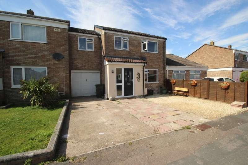 4 Bedrooms Terraced House for sale in Porlock Close, Clevedon, BS21