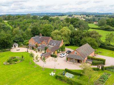 5 Bedrooms Detached House for sale in Nabb Lane, Croxden, Staffordshire