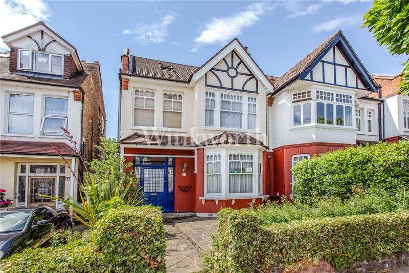 5 Bedrooms Semi Detached House for sale in Fox Lane, London, N13
