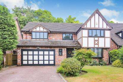 4 Bedrooms Detached House for sale in Corner Croft, Fulshaw Park, Wilmslow, Cheshire