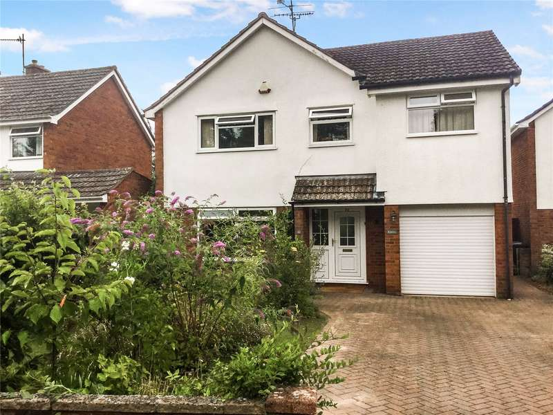 4 Bedrooms Detached House for sale in Cresswell Avenue, Taunton, Somerset, TA2