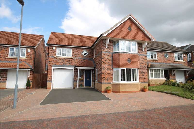 4 Bedrooms Detached House for sale in Deepdale Drive, Consett, County Durham, DH8
