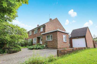 3 Bedrooms Semi Detached House for sale in Spring Road, Letchworth Garden City, Herts, England