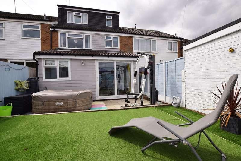 4 Bedrooms Terraced House for sale in Westward Deals, Kedington