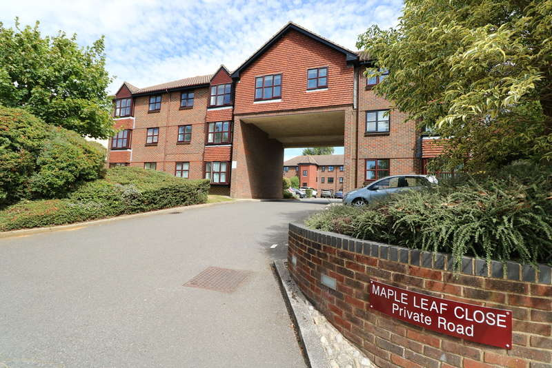 1 Bedroom Flat for sale in Maple Leaf Close, Biggin Hill, Westerham, TN16 3JW
