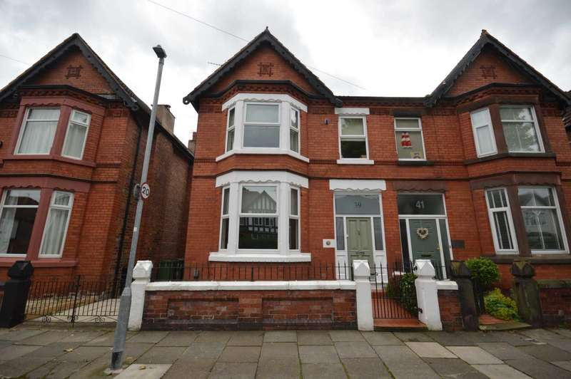 4 Bedrooms Semi Detached House for sale in Cavendish Drive, Rock Ferry