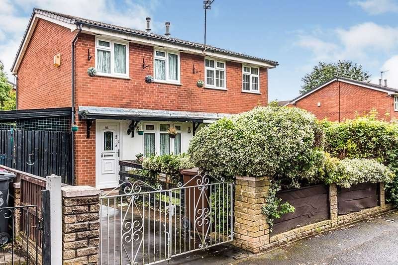 2 Bedrooms Semi Detached House for sale in Marlborough Road, Salford, Greater Manchester, M7