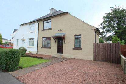 3 Bedrooms Semi Detached House for sale in Barshaw Drive, Paisley