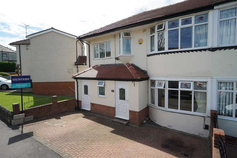 3 Bedrooms Semi Detached House for sale in Gleadless Avenue, Gleadless, Sheffield, S12 2QH