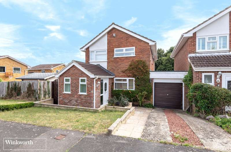3 Bedrooms Link Detached House for sale in Zinnia Close, Basingstoke, Hampshire, RG22