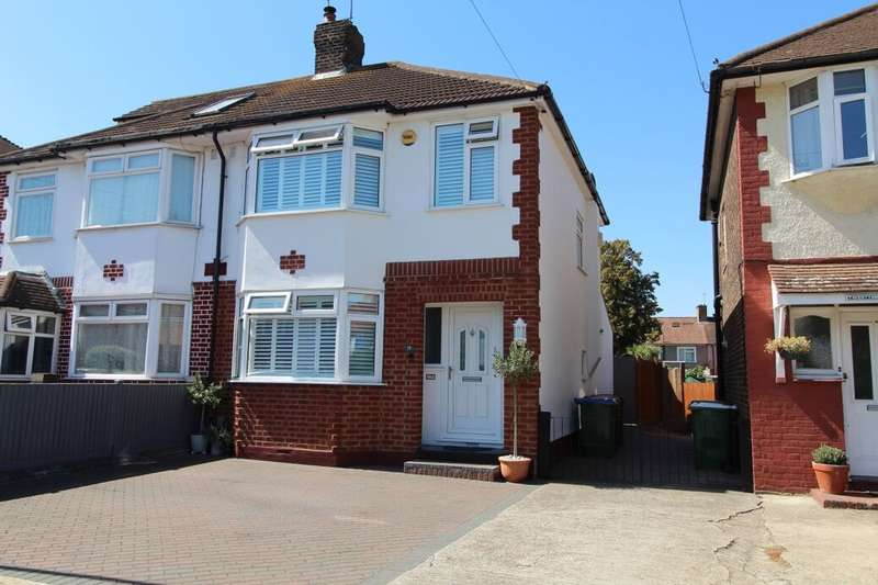 3 Bedrooms Semi Detached House for sale in Buxton Road, Erith, DA8