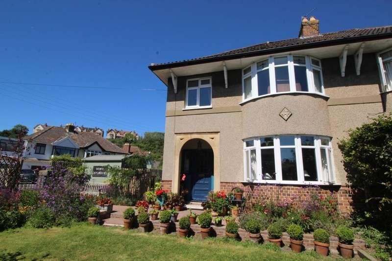 3 Bedrooms Semi Detached House for sale in Coleridge Vale Road East, Clevedon, BS21