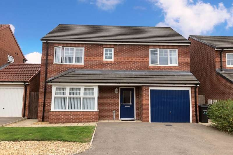 4 Bedrooms Detached House for sale in Baron Close, Middlesbrough, TS5