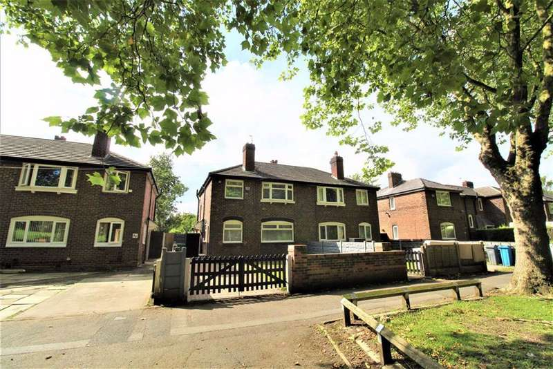 3 Bedrooms Semi Detached House for sale in Errwood Road, Manchester