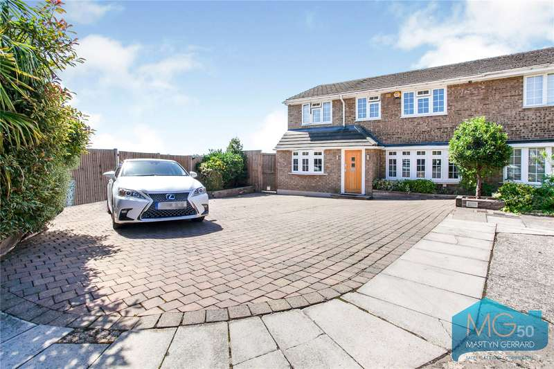 4 Bedrooms Semi Detached House for sale in Newlands Place, Barnet, Hertforshire, EN5