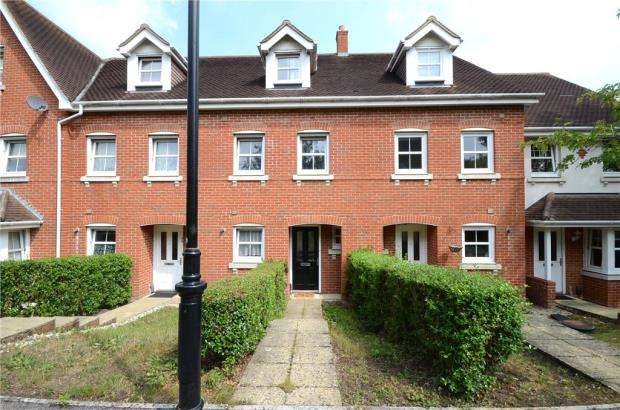 3 Bedrooms Terraced House for sale in Campbell Fields, Aldershot, Hampshire