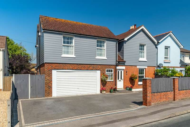 4 Bedrooms Semi Detached House for sale in Fleet End Road, Warsash, Southampton, Hampshire. SO31 9JG