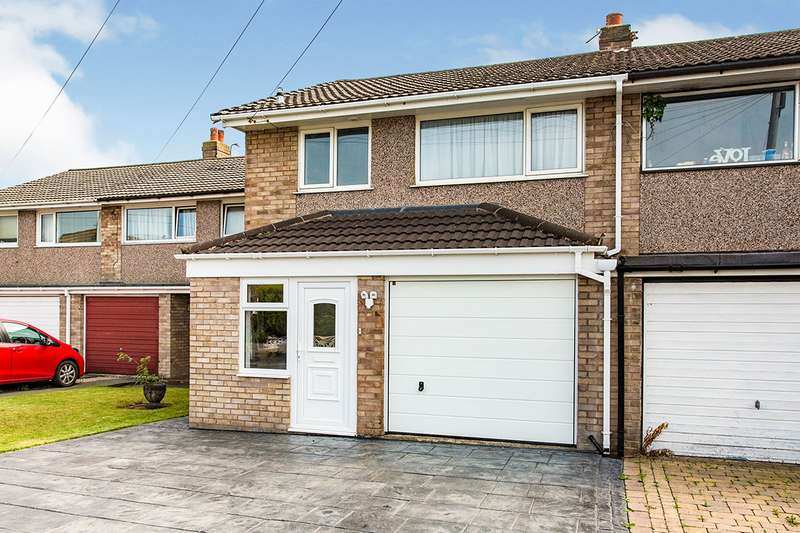 3 Bedrooms Semi Detached House for sale in Broadwood Drive, Fulwood, Preston, Lancashire, PR2