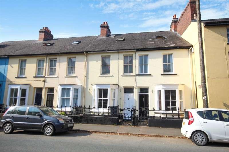 4 Bedrooms Terraced House for sale in 4 Tregunter Place, Watton, Brecon, Powys, LD3 7EN