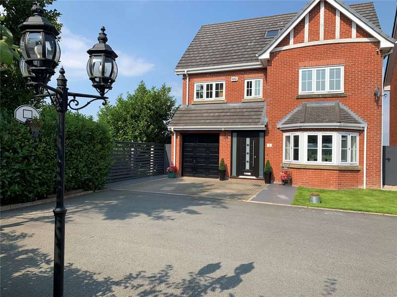5 Bedrooms Detached House for sale in Vista Close, Westhoughton, Bolton, Greater Manchester, BL5