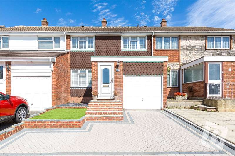 3 Bedrooms Terraced House for sale in Oaklands Road, Northfleet, Gravesend, Kent, DA11