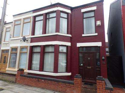 3 Bedrooms Semi Detached House for sale in Second Avenue, Fazakerley, Liverpool, Merseyside, L9