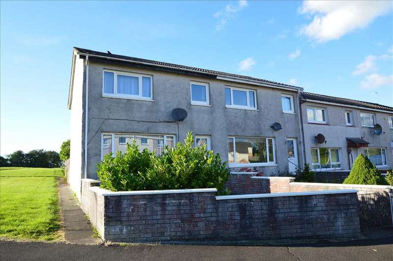 3 Bedrooms End Of Terrace House for sale in Hillcrest, Lesmahagow