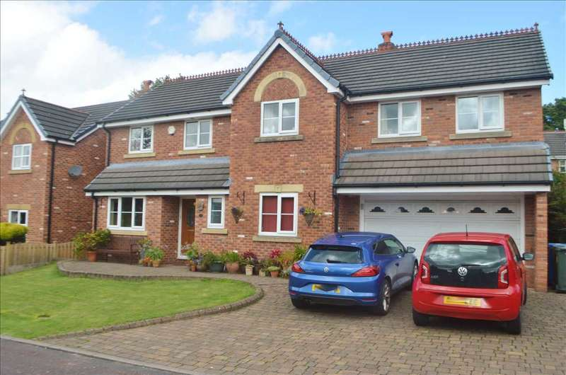 5 Bedrooms Detached House for sale in Danesway, Heath Charnock, Chorley