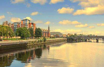 1 Bedroom Flat for sale in Clyde Street, Glasgow