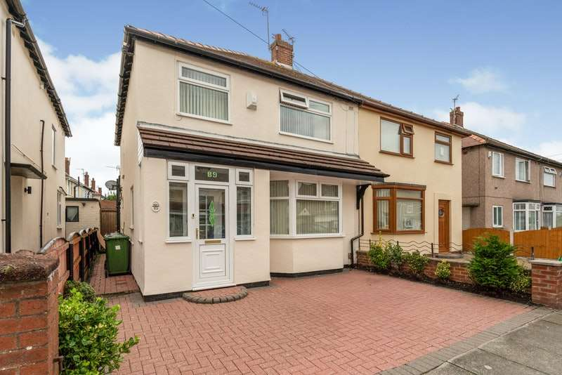 3 Bedrooms Semi Detached House for sale in Sonning Avenue, Liverpool, Merseyside, L21