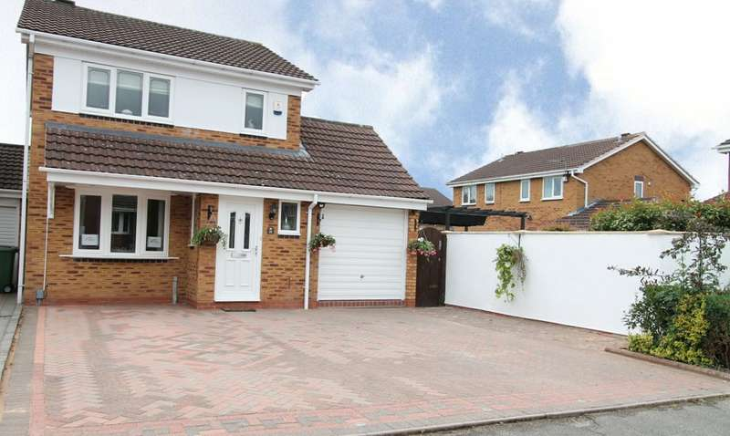 3 Bedrooms Detached House for sale in Ensall Drive, Wordsley, Stourbridge, DY8