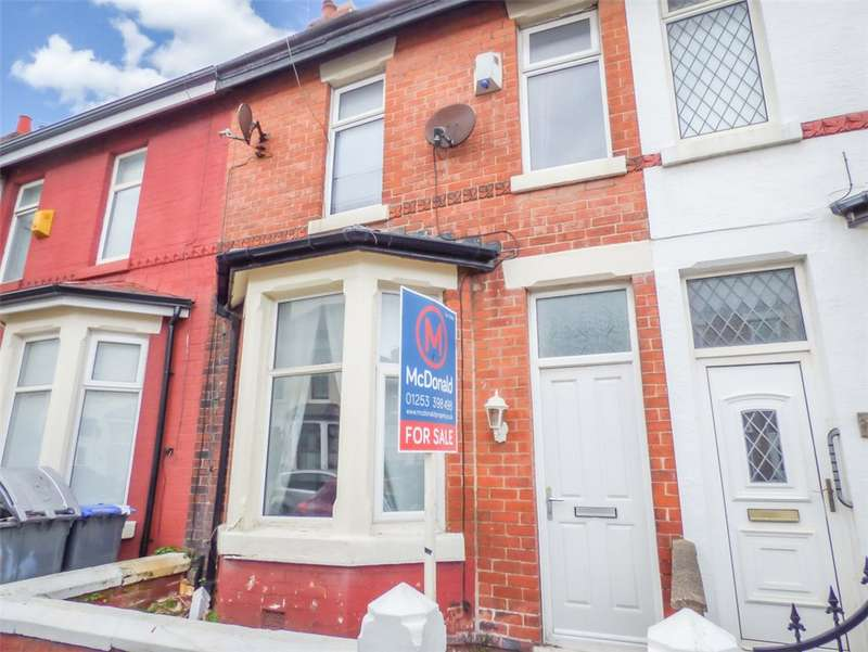 2 Bedrooms Terraced House for sale in Manchester Road, Blackpool, Lancashire